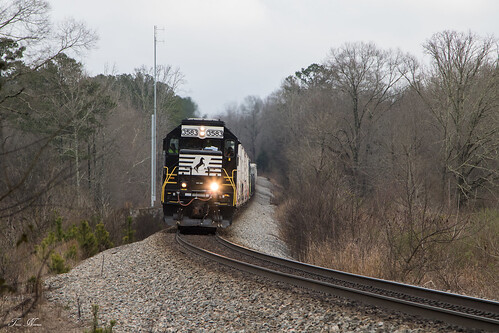 norfolk southern ns train railroad rr freight manifest road local g39 georgia division atlanta north seney emd sd402 rockmart locomotive 924h signal