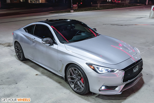 Infiniti Q60RS - Stance SF03 Brushed Titanium