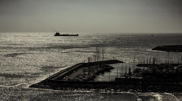 Puerto de Tarragona.