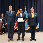 Vi, 03/29/2019 - 14:32 - On Friday, March 29, 2019, the William J. Perry Center for Hemispheric Defense Studies hosted a graduation ceremony for two courses: 'Strategic Implications of Human Rights and Rule of Law' and 'Combating Transnational Threat Networks.' Students from all over the Americas attended the courses from March 18-29, 2019. The graduation ceremony and reception took place in Lincoln Hall at the National Defense University's North Campus at Fort McNair in Washington, DC.