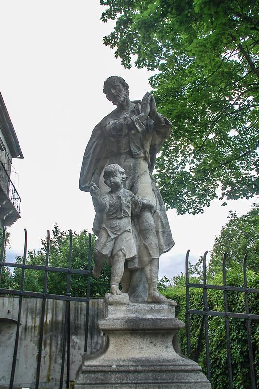 護城河上聖若瑟塑像
