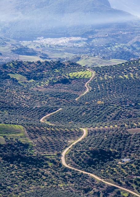 Spain - Cadiz - Olvera - Views from the castle