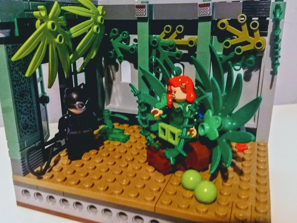 Going Green- Catwoman vs Poison Ivy
