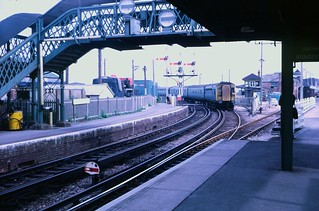 4-COR at Newhaven Harbour station in 1971 | by Tom Burnham