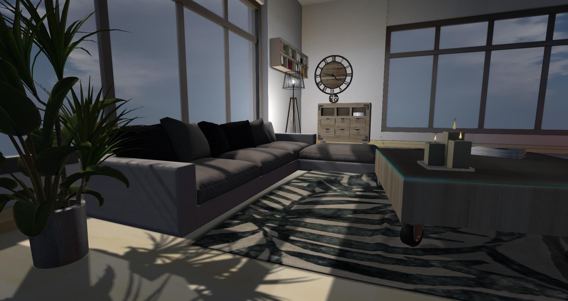 New York Living Room 1