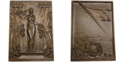 Chile Independence Centennial Plaque | by Numismatic Bibliomania Society