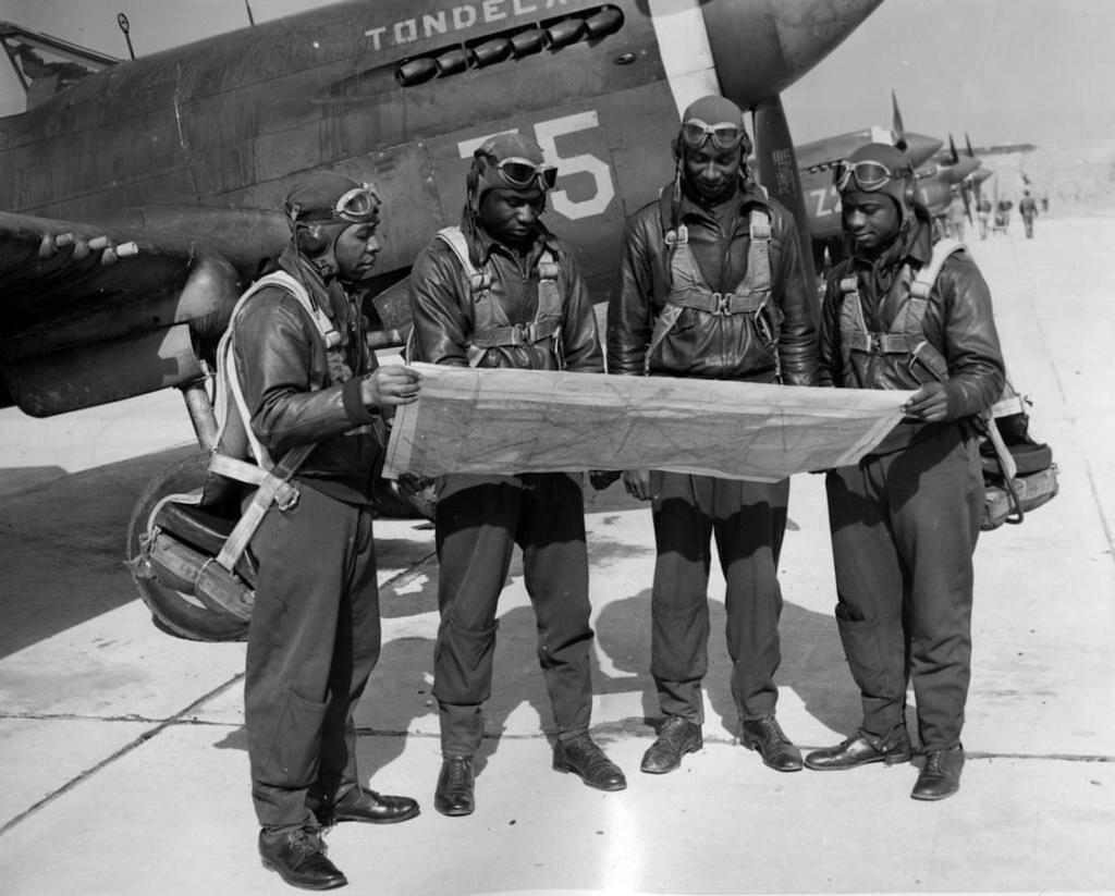 Tuskegee army flying school