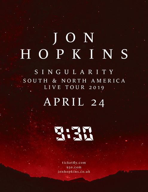 Jon Hopkins Flyer