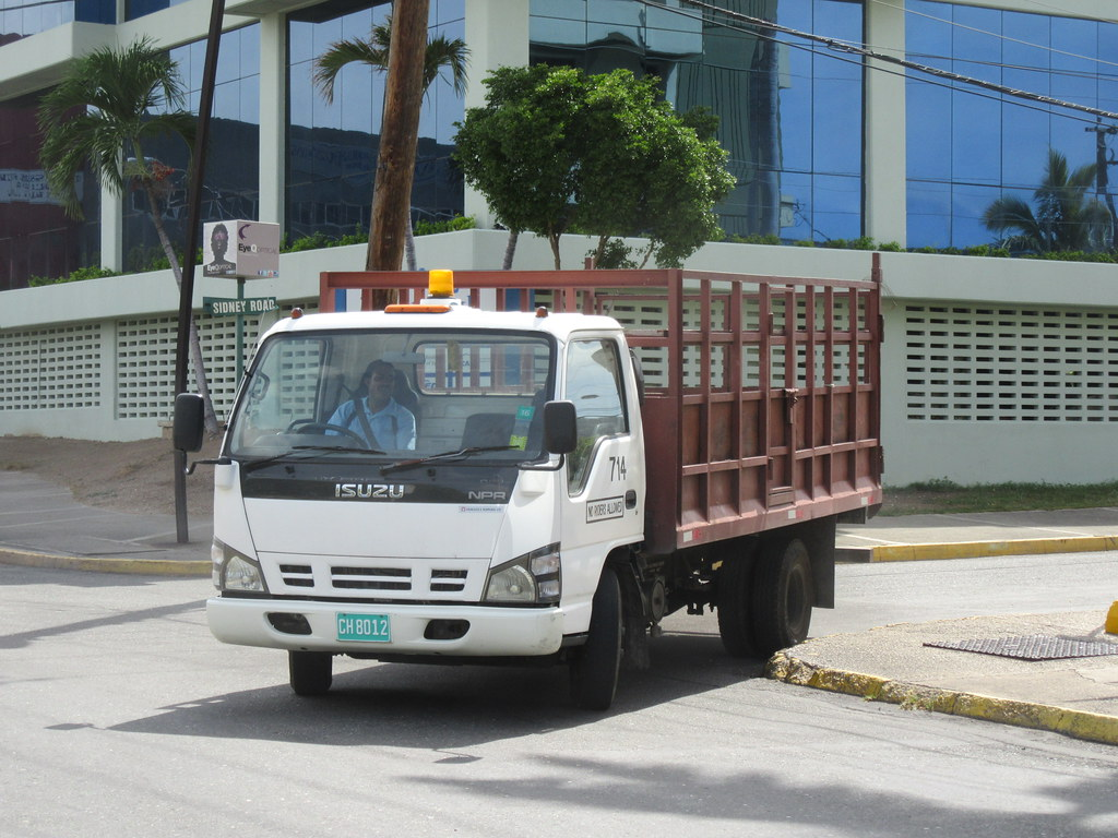 Isuzu NPR | Light cabover trucks like this are very common i… | Flickr