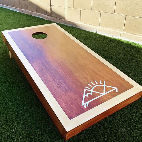 by bartlewife - Sweet DIY corn hole weekend project! | by TheBartlemans