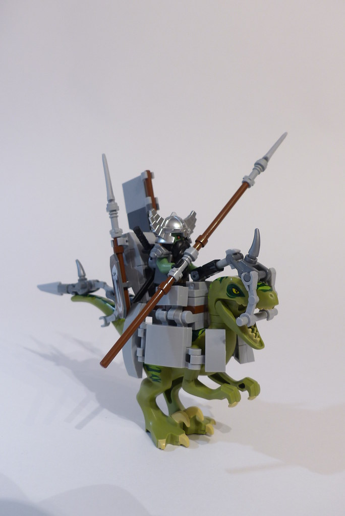 Trolls's Warchief Raptor Rider