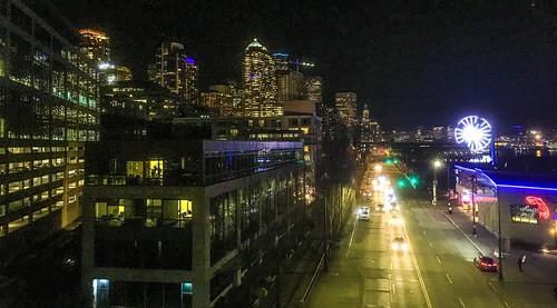 Seattle tonight   by aiddy