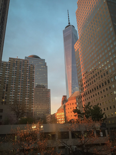 WTC from Albany Street, Manhattan | by chinese johnny