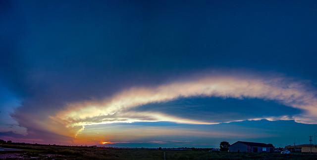 080918 - Pure Nebraska Sunset 004 (Pano)