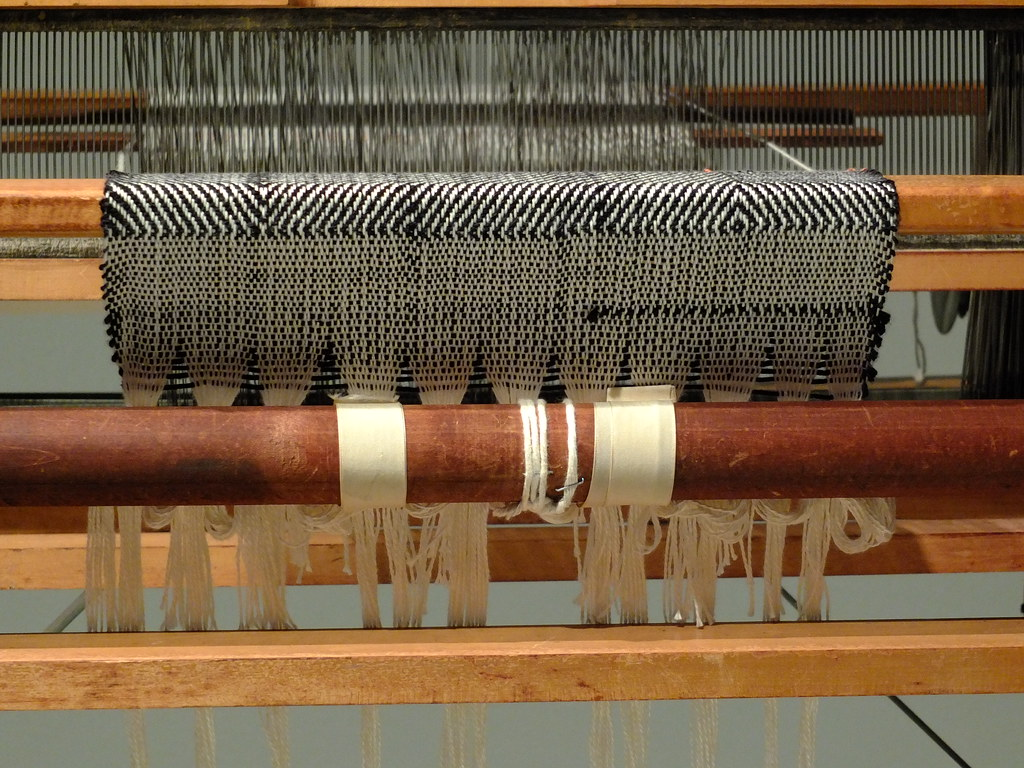 """""""Weaving on the Loom"""" by failing_angel is licensed under CC BY-NC-SA 2.0"""