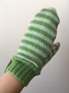 Craft Fail:  Tova Mittens from Fulled Sweaters | by patternandbranch