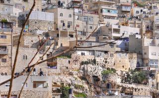 Jerusalem:  Overlooking the walls