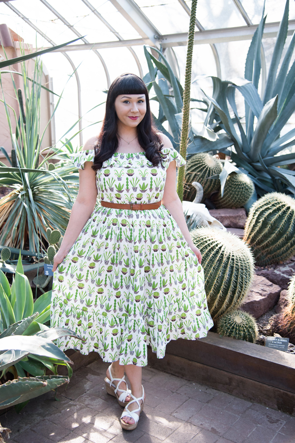 tara starlet cactus dress