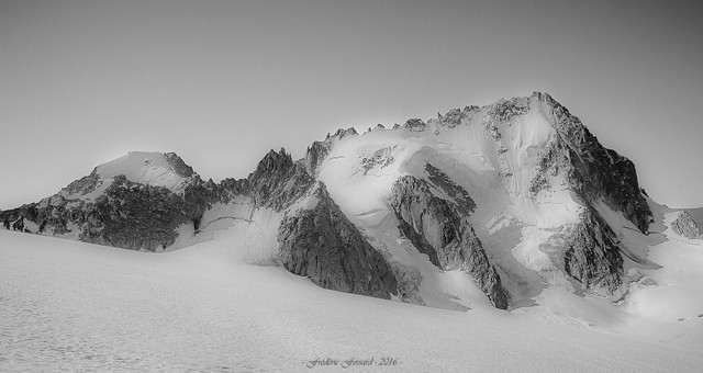 Douceur des Glaciers (N/B)