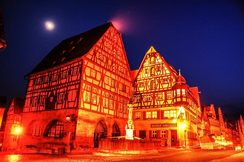羅騰堡夜景 4