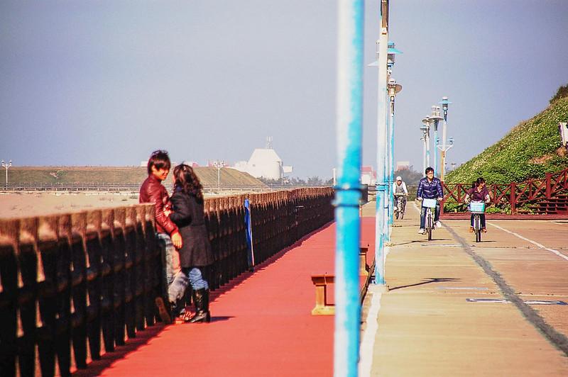 新竹市17公里海岸觀光帶自行車專用道 1