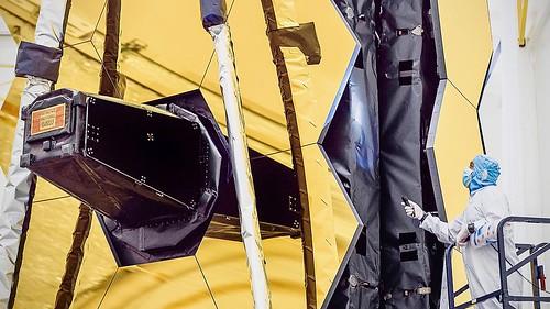 Webb Telescope Mirrors Utilize Innovative Space Shielding   by NASA Goddard Photo and Video