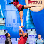 UCA College Nationals 2019 - Coed Partner Stunt