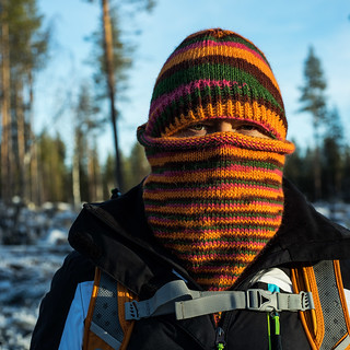 Cowl and a matching hat | by Winterbound