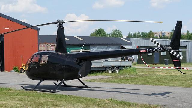 Robinson R-44 Clipper II LN-OAE at Kjeller 2018