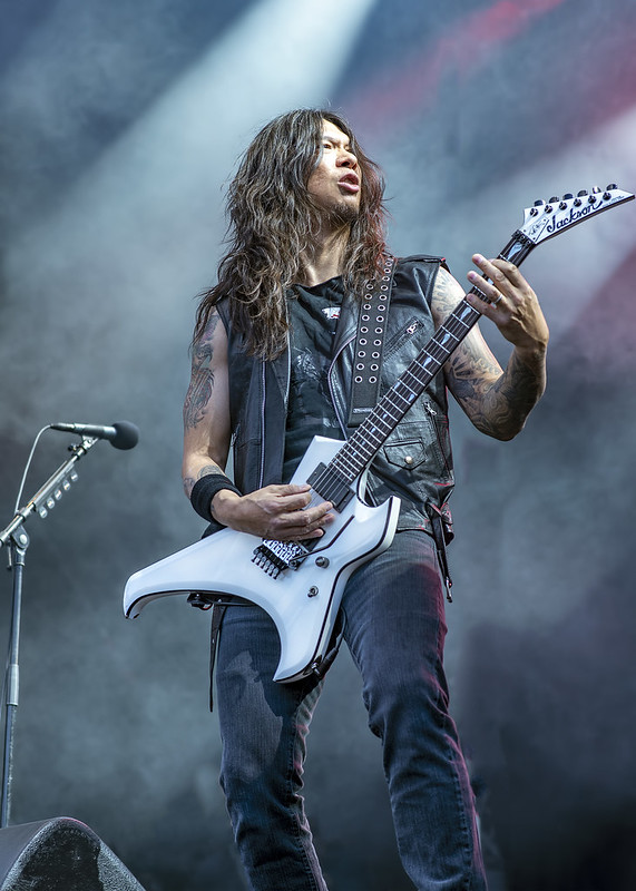 Rob Cavestany of Death Angel @ 2017 Gefle Metal Festival