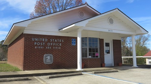 arkansas ar postoffices pikecounty kirby ouachitamountains northamerica unitedstates us