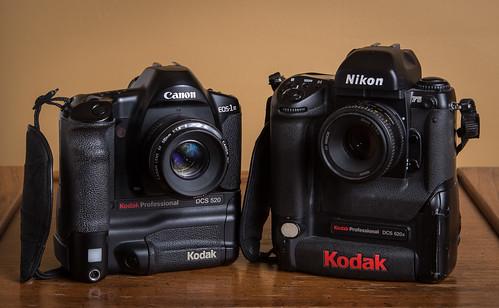 Kodak DCS 520 (1998) / DCS 620x (2000) | by maoby
