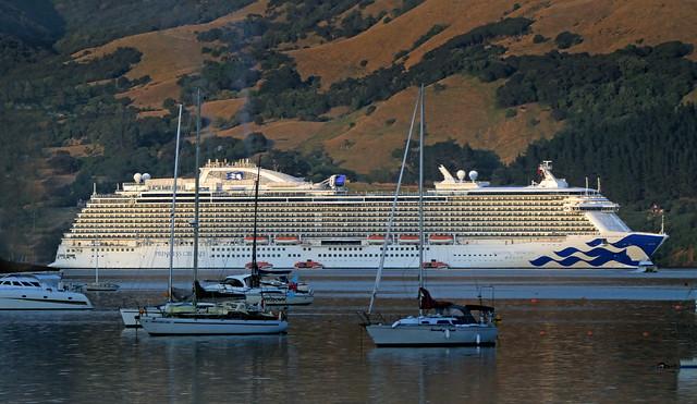 Majestic Princess Royal-class cruise ship.