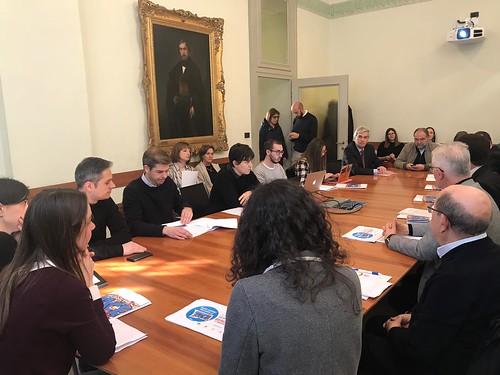 Conferenza stampa 6° Appuntamento Giovani della pace