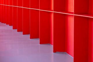 Red gangway