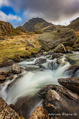 Tryfan Mountain north Wales