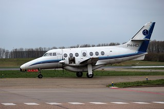 PH-HCI AIS Airlines BAe Jetstream 32 at its homebase Lelystad Airport