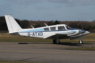 Piper Pa30 Twin Comanche G-ATXD Blackbushe Mar19