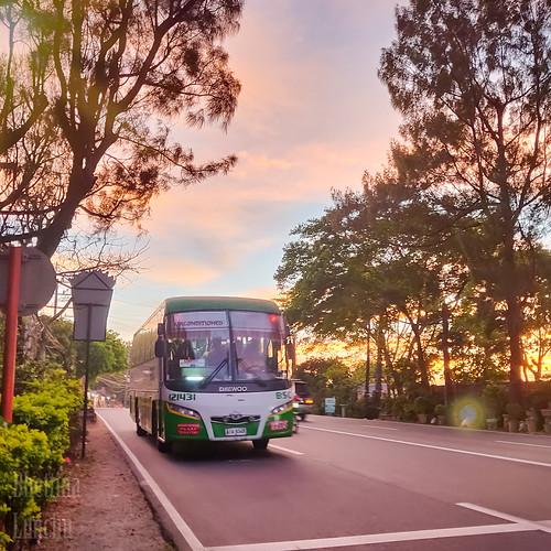 bsc bsc121431 bus tagaytay nasugbu pasay pitx radaritaas neogan philippines daewoo daewoobs106
