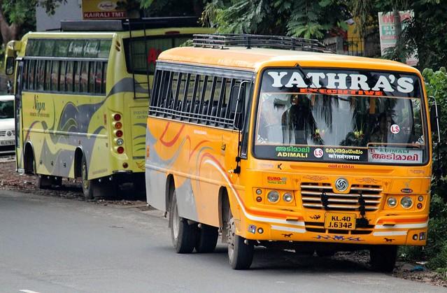 Ashok Leyland bus, Kerala, India