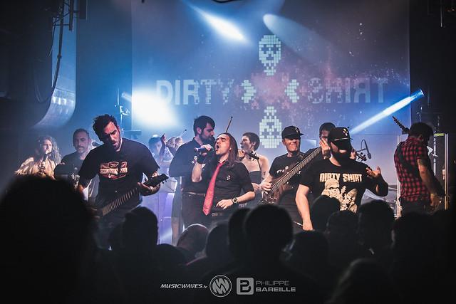 Dirty Shirt @ Le Petit Bain, Paris | 29/03/2019