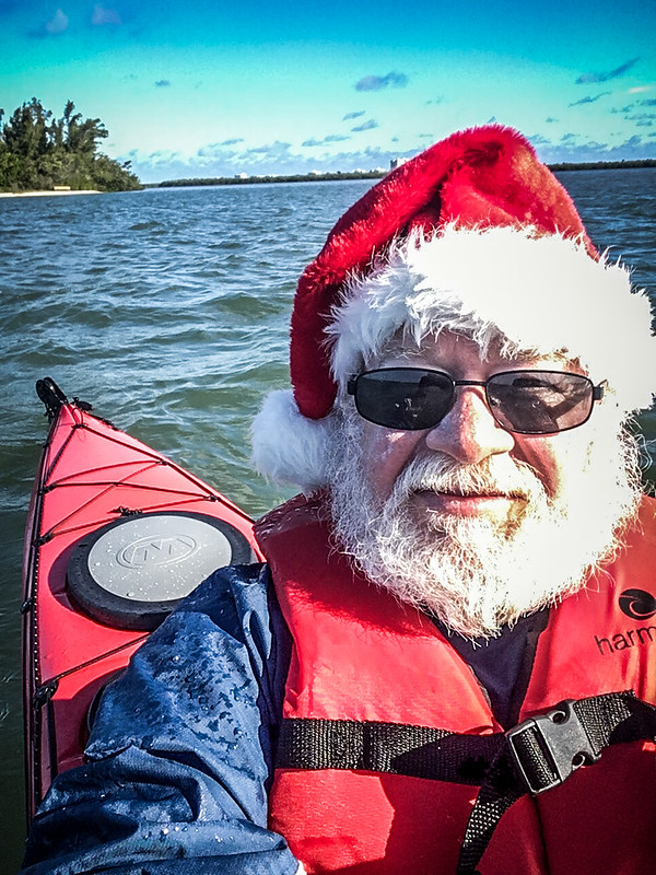 Santa Paddle on the Indian River-019