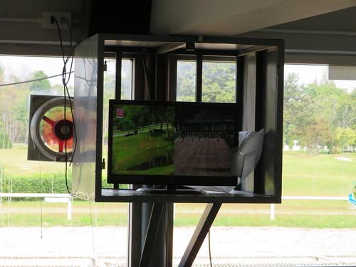 チェンマイ競馬場のオッズ表示画面