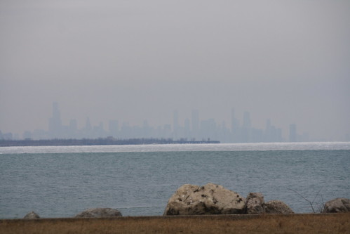 Hazy Chicago Skyline | by tcamp7837
