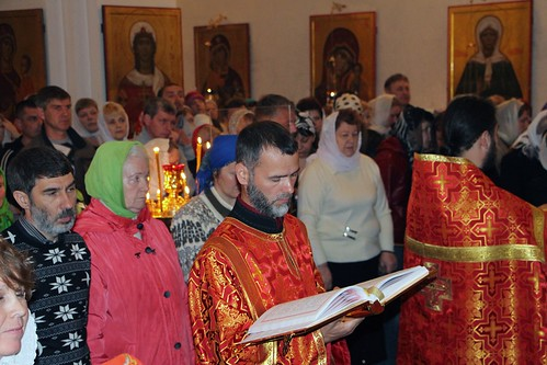 Пасхальное Богослужение в Свято-Никольском храме станицы Кавказской IMG_1404