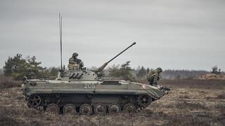 """Noslēdzošā militārā kauja mācību """"Integrated Capstone Exercise 2019/1"""" ( """"ICE1901"""") ietvaros   by Latvijas armija"""