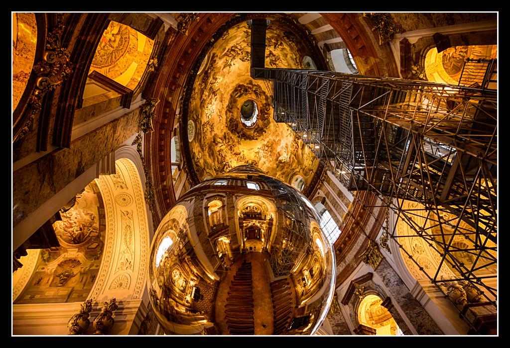 . Panoply of baroque art   Karlskirche interior  Vienna   Flickr