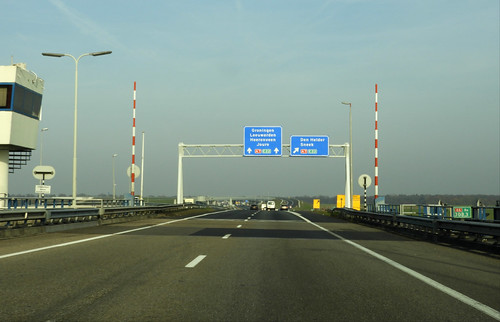 A6/A7 beslissingswegwijzer knp Joure | by DutchRoadMovies