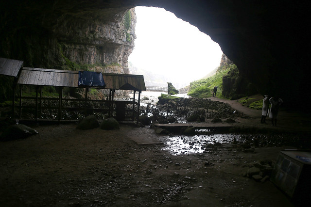 Smoo Cave near Durness