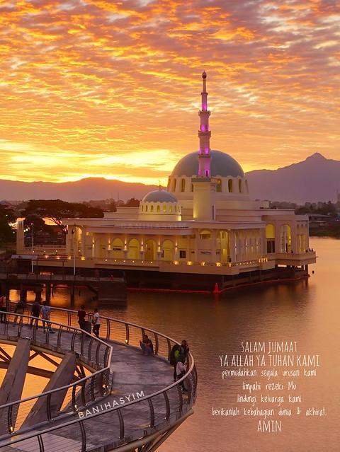 Masjid india kuching. #visitsarawak2019 #mosque #muslim #islam #sunset